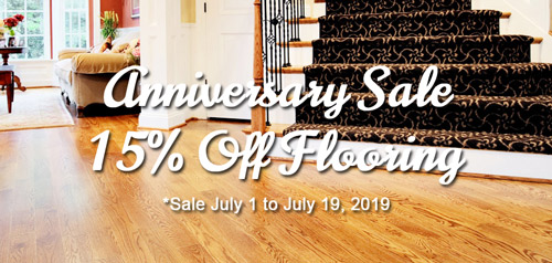 Anniversary Flooring Sale Apex