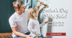 Father's Day Paint Sale